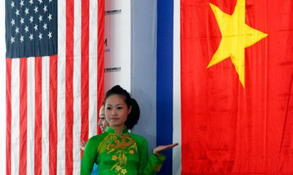The US wants to build its ties with former enemy Vietnam, but is troubled by the Hanoi government's record of suppressing dissent. Photograph: Kham/Reuters